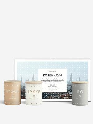 SKANDINAVISK KOBENHAVN Collection - Three Mini Candle Gift Set