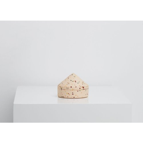 Capra Designs Terrazzo Cone Keepsake Box - 3 colours