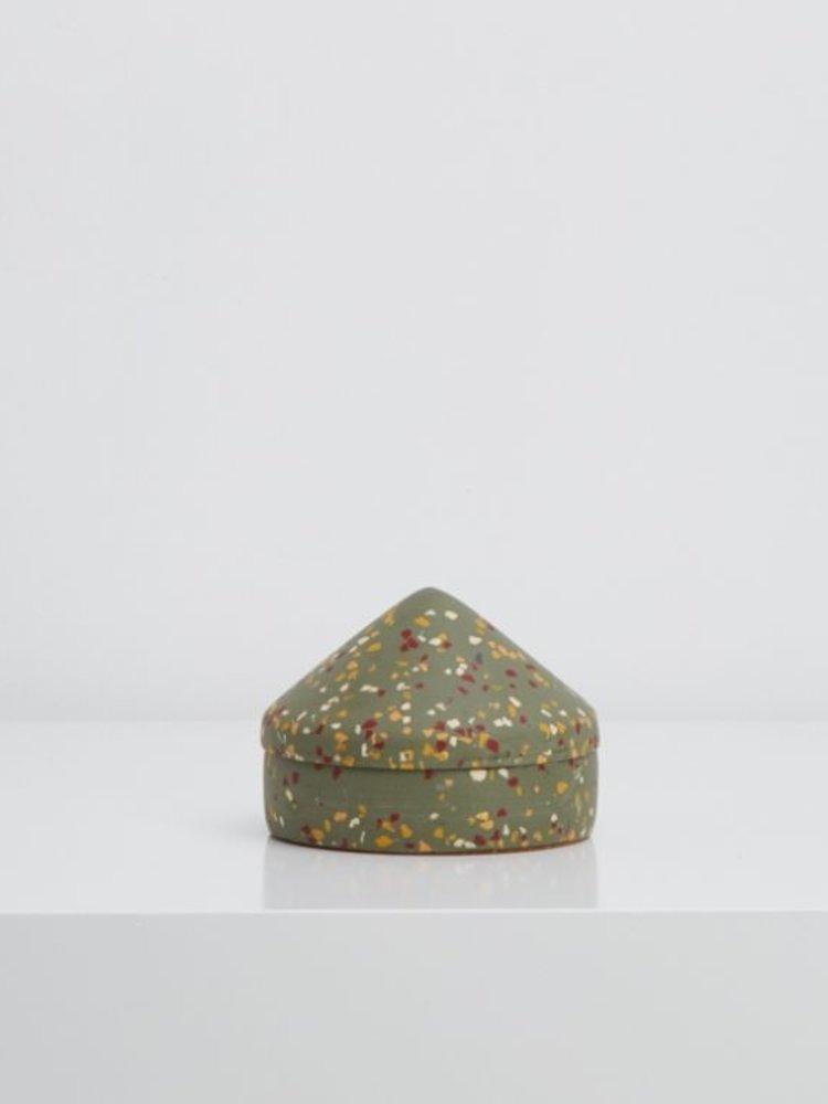Capra Designs Capra Designs  Terrazzo Cone Keepsake Box
