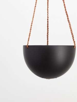 Capra Designs Capra Designs Block Colour Dome Hanging Planter Midnight/Black