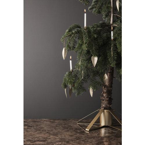 ferm LIVING Christmas Tree Foot - Brass