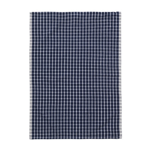 ferm LIVING Hale Yarn Dyed Linen Tea Towels - Blue/Off White