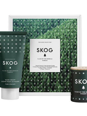 SKANDINAVISK SKOG -Handcream & Mini Candle GiftSet