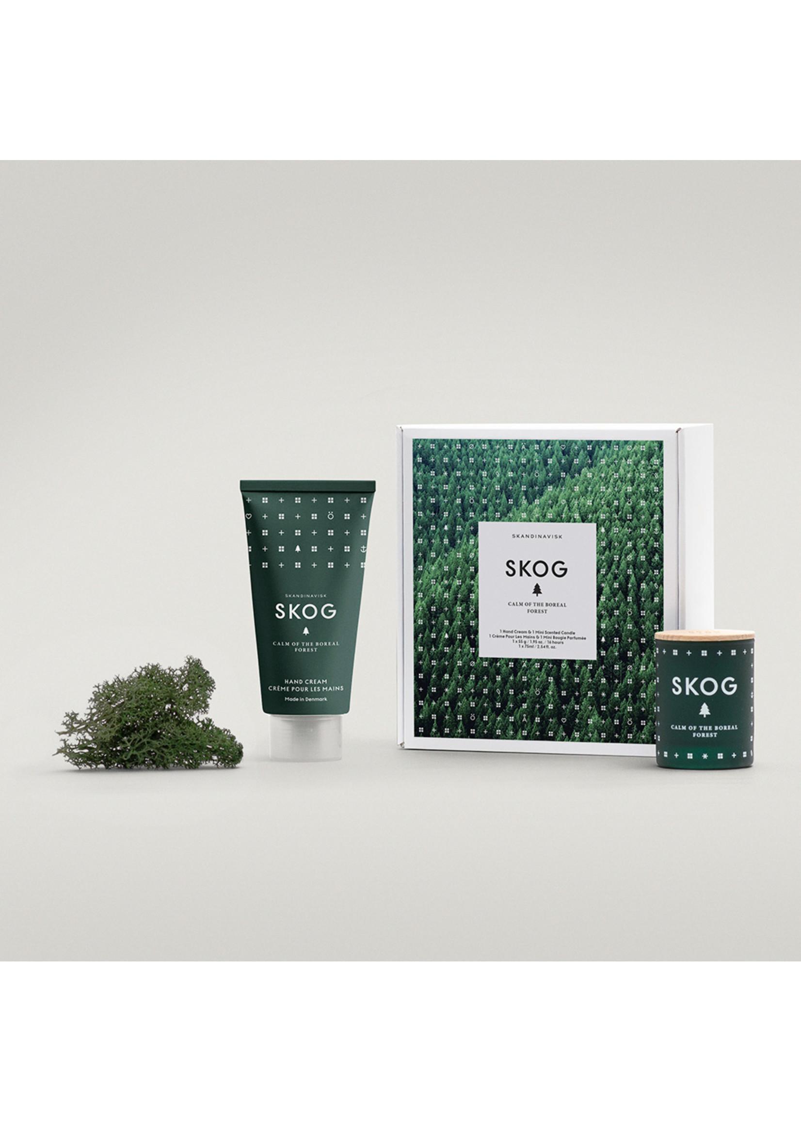 SKANDINAVISK Skandinavisk SKOG -Handcream & Mini Candle GiftSet