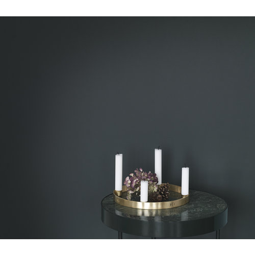 ferm LIVING Candle Holder Circle - Small - Brass