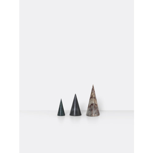 ferm LIVING Marble Trees - Set of 3