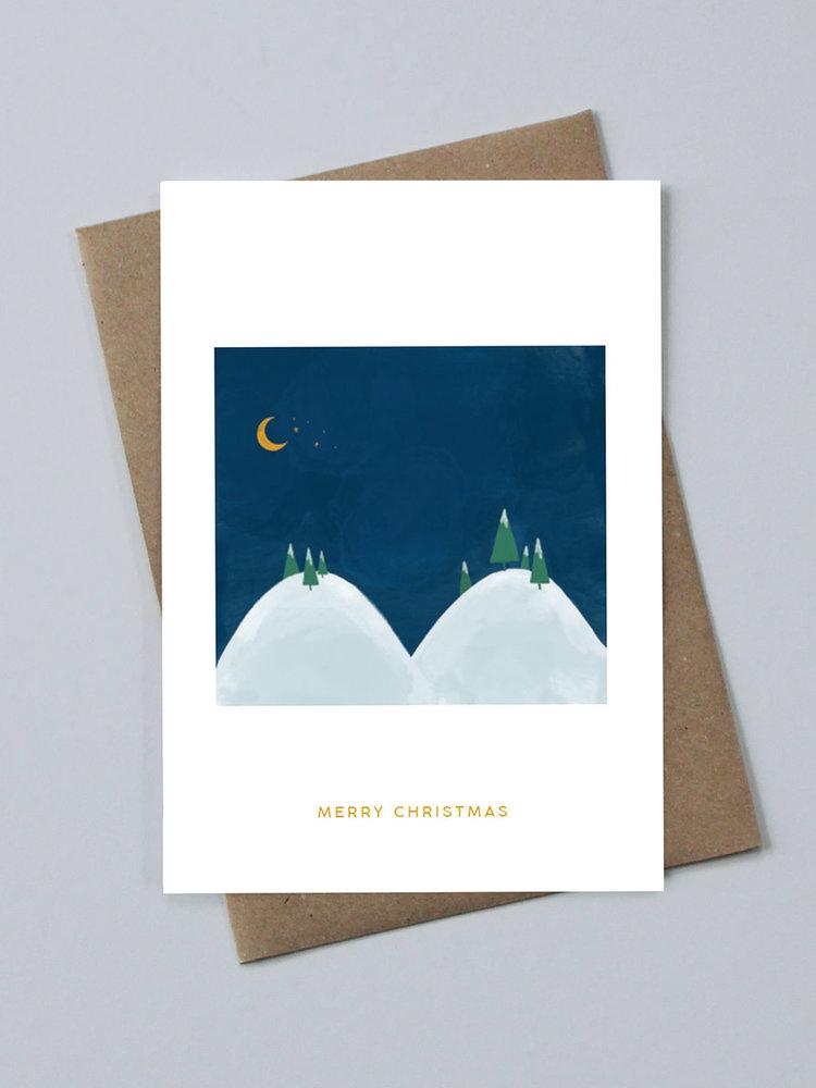 May Bear May Bear Merry Christmas Card