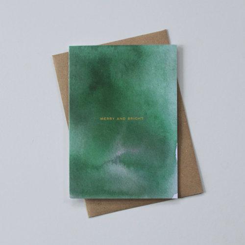 May Bear Merry and Bright Card