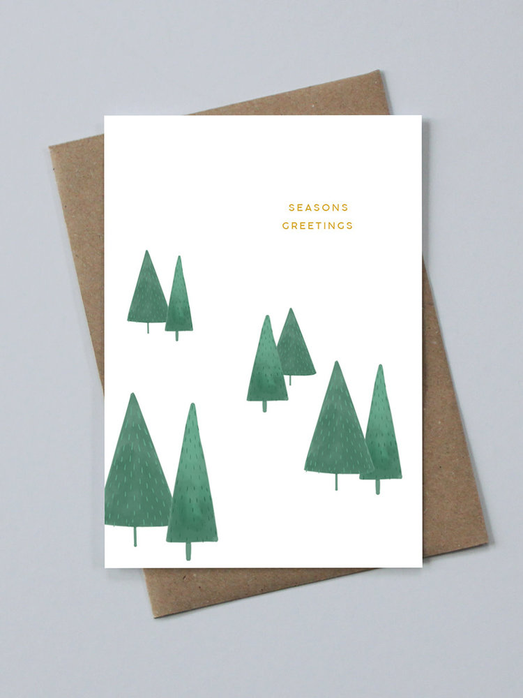May Bear May Bear Seasons Greetings Card