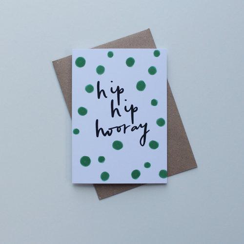 May Bear Hip Hip Hooray Card