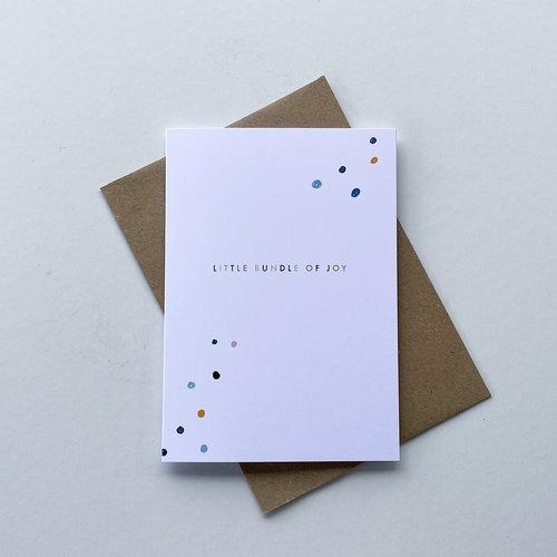 May Bear Little Bundle of Joy Card