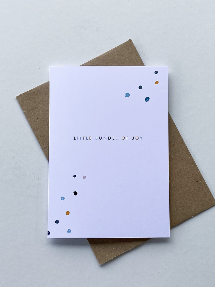 May Bear May Bear Little Bundle of Joy Card