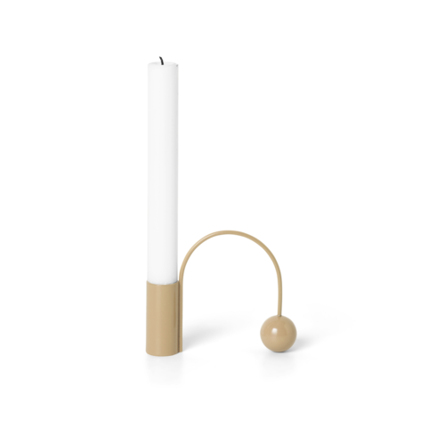 ferm LIVING Balance Candle Holder - Macaroon