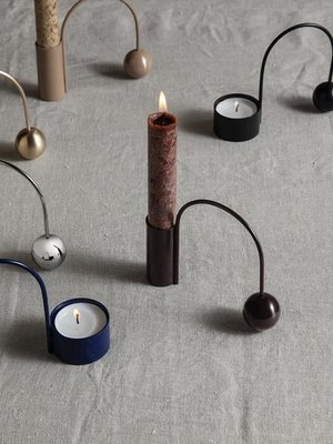 ferm LIVING Ferm Living Balance Candle Holder - Macaroon