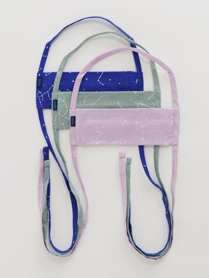 Baggu fabric Tie mask set - Constellation