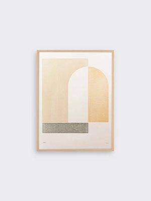 Tom Pigeon Hatch 1 Letterpress Print - 30x40cm