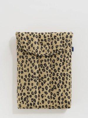 "Baggu Puffy Laptop Sleeve 13"" - Honey Leopard"