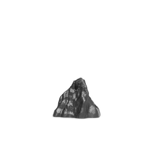 ferm LIVING Stone Candle Holder - Small - Black Alu