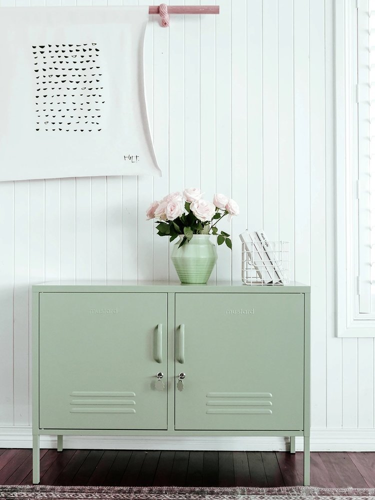Mustard Mustard Lowdown Locker in Sage