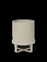 ferm LIVING Bau Plant Pot - Cashmere - Small