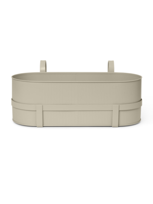 ferm LIVING Bau Balcony Box - Cashmere