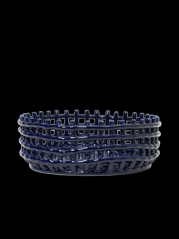 ferm LIVING ferm LIVING Ceramic Centrepiece - Blue