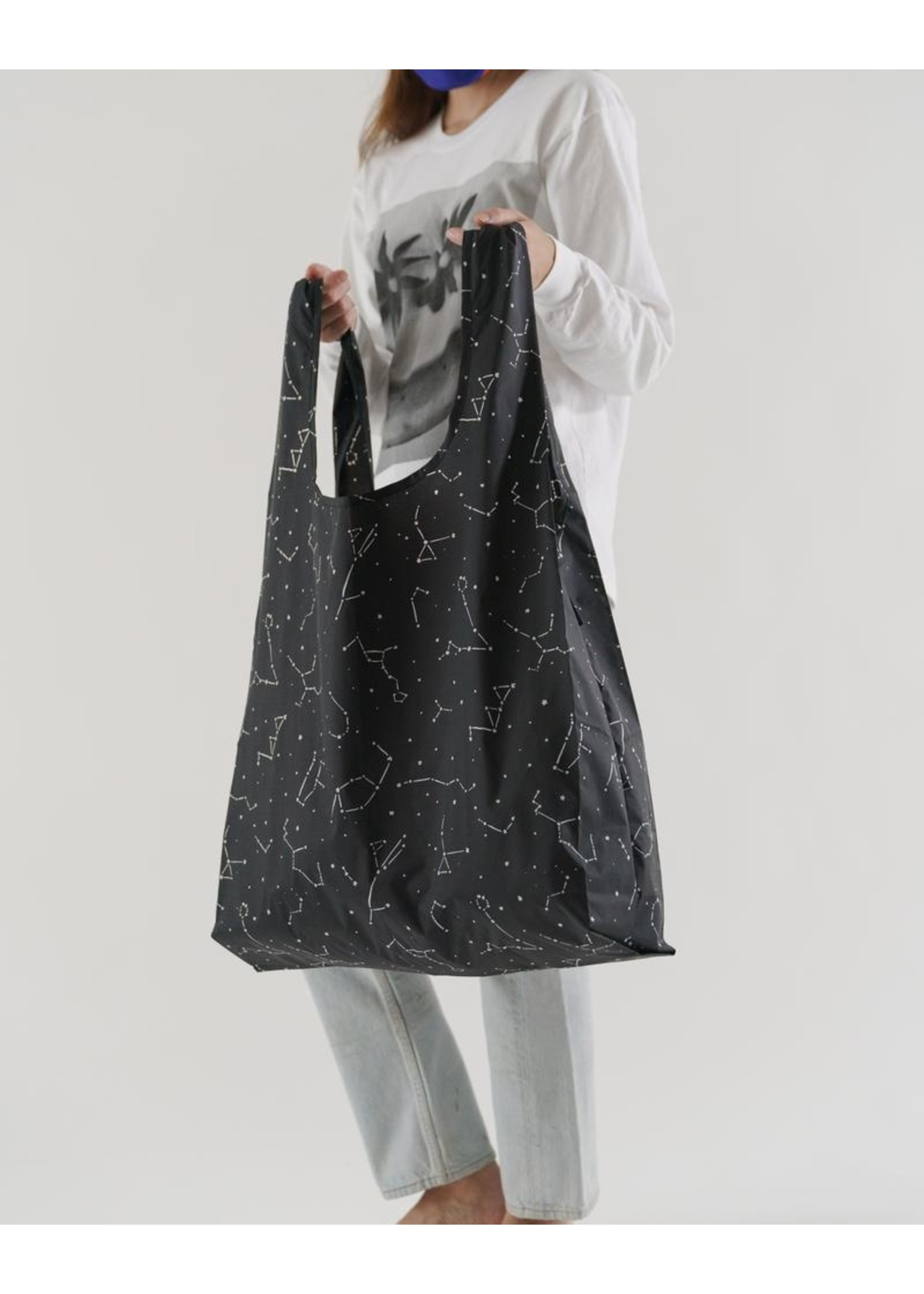 Baggu Baggu Big Baggu Reusable Bag - Black Constellation