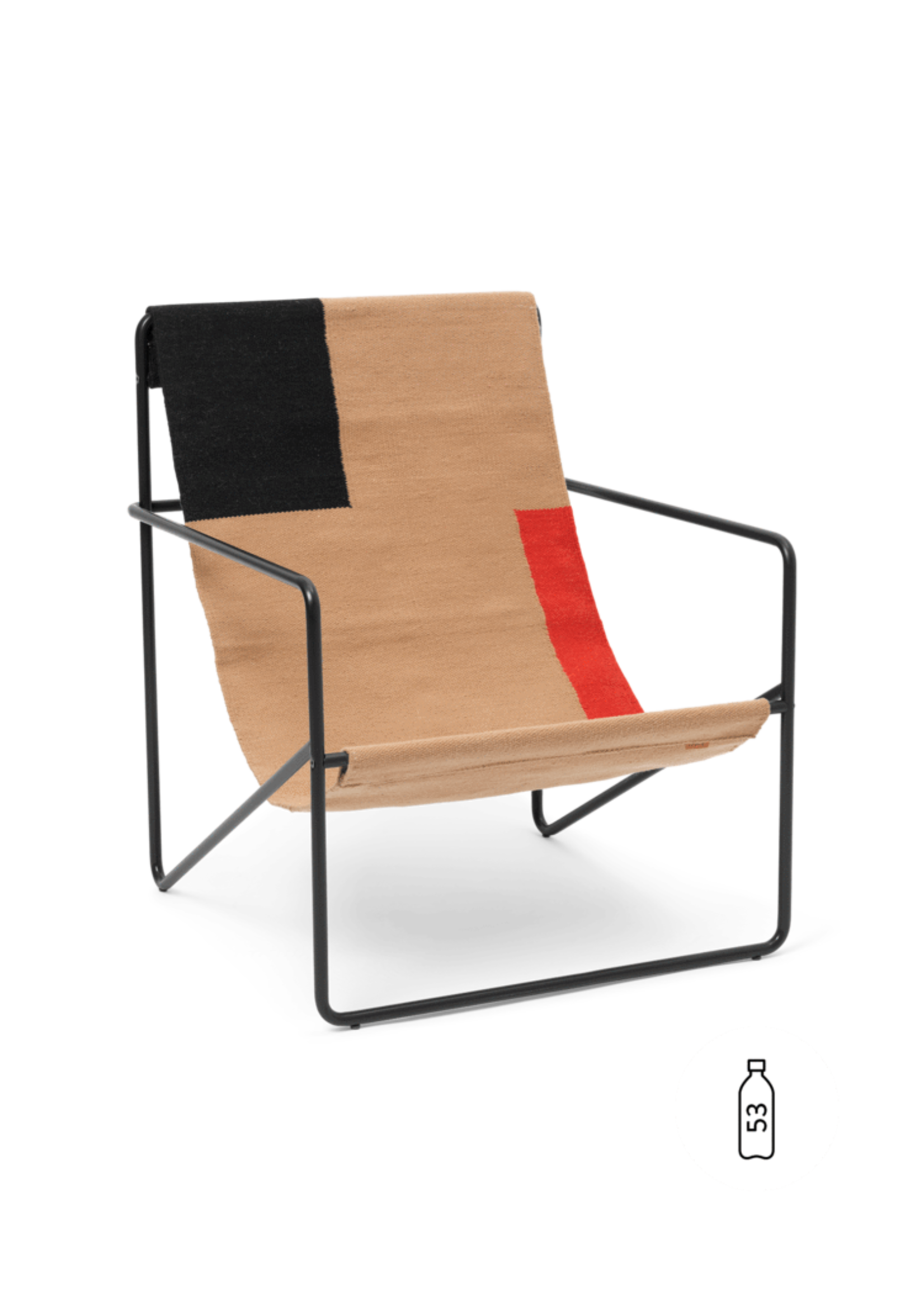 ferm LIVING ferm LIVING - Desert Chair - Block
