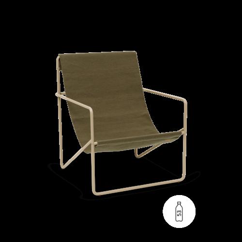 ferm LIVING Desert Chair - Olive