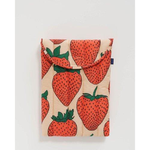 "Baggu Puffy Laptop Sleeve 13"" - Strawberry"