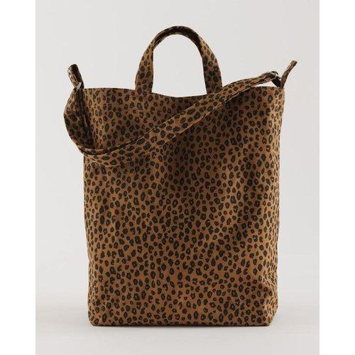 Baggu Duck Canvas Bag - Nutmeg Leopard