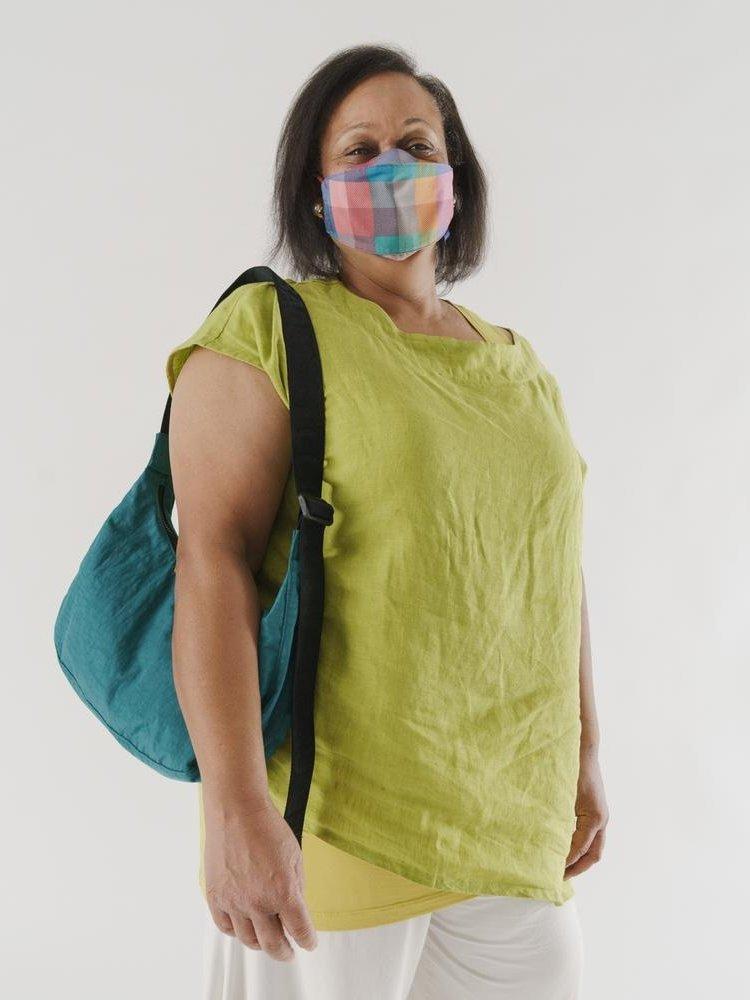 Baggu Baggu Medium Nylon Crescent Bag - Malachite