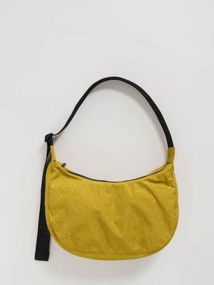 Baggu Medium Nylon Crescent Bag - Lentil