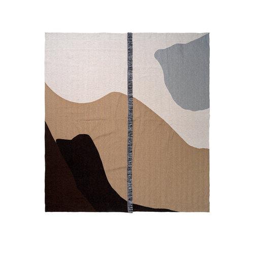 ferm LIVING Vista Bedspread - Sand