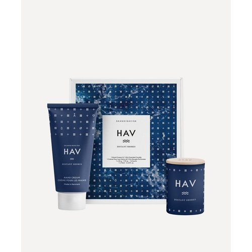 SKANDINAVISK HAV -Handcream & Mini Candle GiftSet