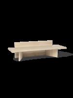 ferm LIVING Oblique Bench - Natural Oak