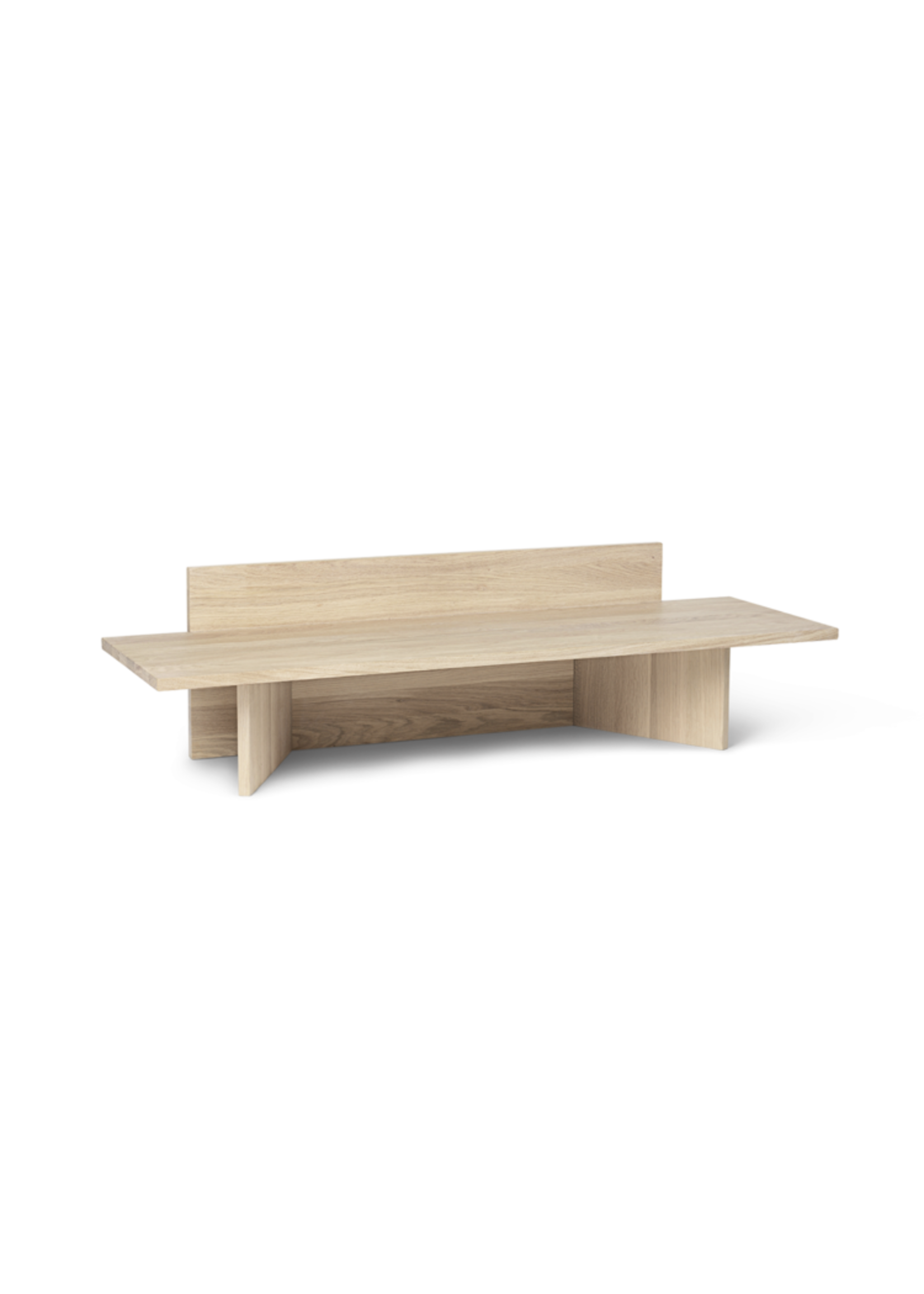 ferm LIVING ferm LIVING Oblique Bench - Natural Oak