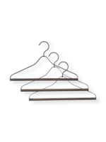 ferm LIVING Coat Hanger - Set of 3 - Black