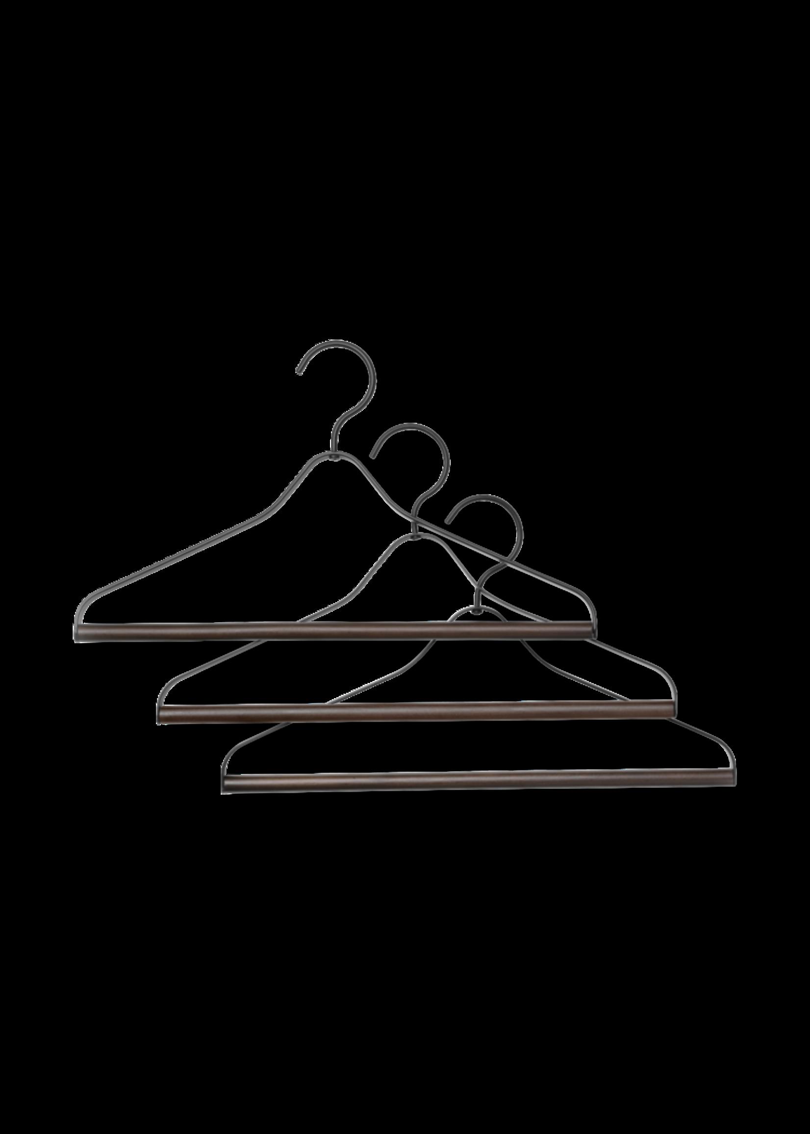 ferm LIVING ferm LIVING Coat Hanger - Set of 3 - Black