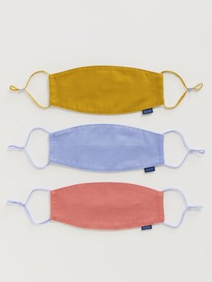 Baggu fabric Loop mask set - Patio