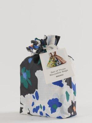 Baggu Standard Reusable Bag - Set of 3 - Archive Florals