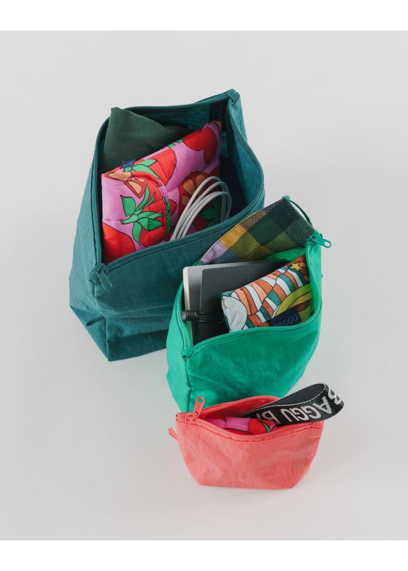 Baggu Baggu Go Pouch Set - Watermelon Slice