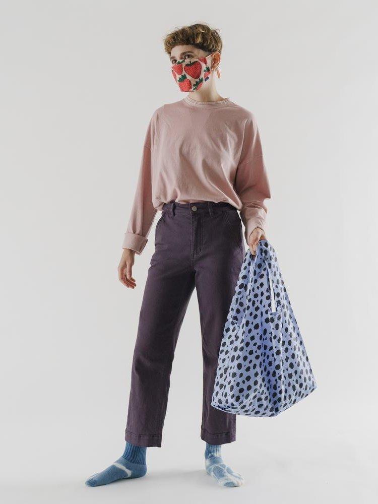 Baggu Baggu Standard Reusable Bag - Blue Cheetah