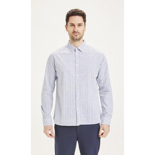 KnowledgeCotton Elder Regular fit Striped Shirt