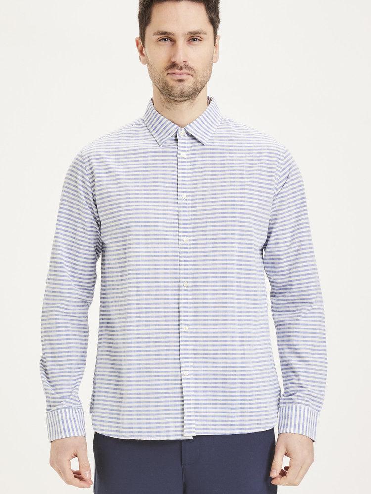 KnowledgeCotton KnowledgeCotton Elder Regular fit Striped Shirt
