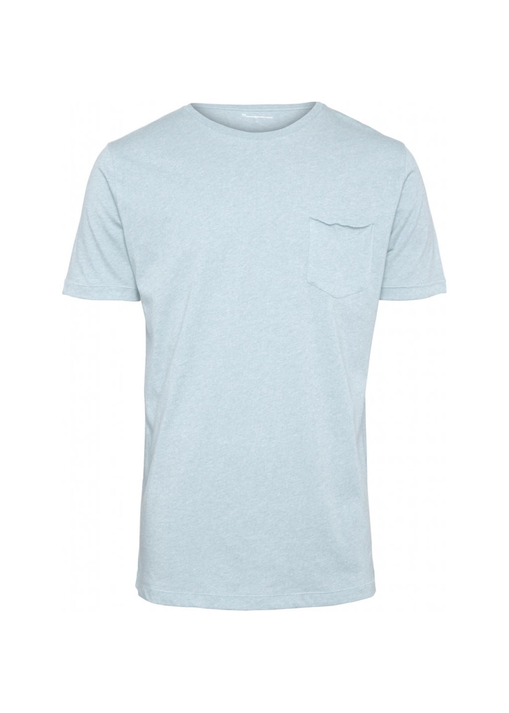 KnowledgeCotton KnowledgeCotton Alder Basic T-shirt with chest pocket