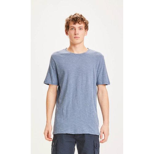 KnowledgeCotton Alder Narrow Striped T-shirt - SS21