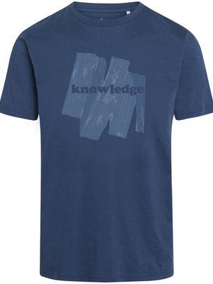 KnowledgeCotton Alder Brushed Knowledge T-shirt