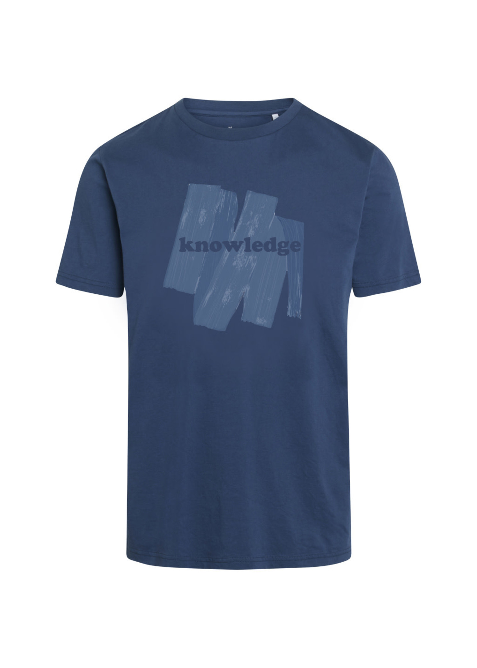 KnowledgeCotton KnowledgeCotton Alder Brushed Knowledge T-shirt