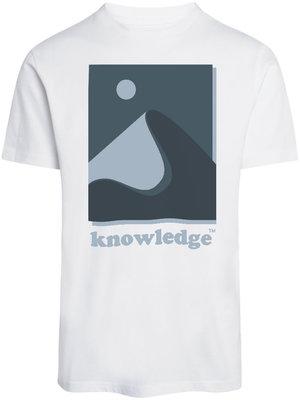 KnowledgeCotton Alder Mountain Tee - White